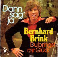 Cover Bernhard Brink - Dann sag' ja