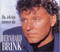 Cover Bernhard Brink - Du, ich bin immer da