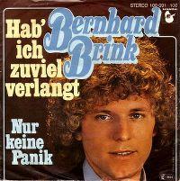 Cover Bernhard Brink - Hab' ich zuviel verlangt