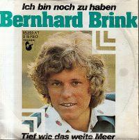 Cover Bernhard Brink - Ich bin noch zu haben