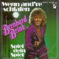 Cover Bernhard Brink - Wenn and're schlafen