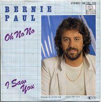 Cover Bernie Paul - Oh No No