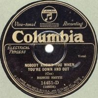 Cover Bessie Smith - Nobody Knows You When You're Down And Out