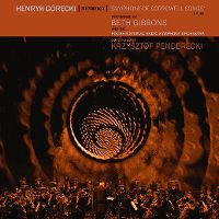 Cover Beth Gibbons And The Polish National Radio Symphony Orchestra / Krzysztof Penderecki - Henryk Górecki: Symphony No. 3 / Symphony Of Sorrowful Songs op. 36