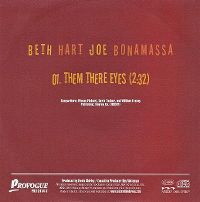 Cover Beth Hart / Joe Bonamassa - Them There Eyes