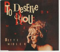 Cover Bette Midler - To Deserve You