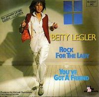 Cover Betty Legler - Rock For The Lady