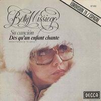 Cover Betty Missiego - Su canción