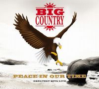 Cover Big Country - Peace In Our Time - Greatest Hits Live