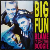 Cover Big Fun - Blame It On The Boogie
