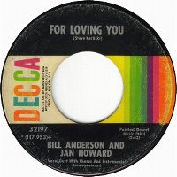 Cover Bill Anderson & Jan Howard - For Loving You