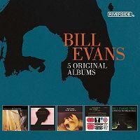 Cover Bill Evans - 5 Original Albums - Riverside