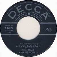 Cover Bill Haley And His Comets - (Now And Then There's) A Fool Such As I