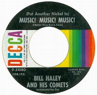 Cover Bill Haley And His Comets - (Put Another Nickel In) Music! Music! Music!