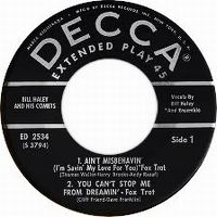 Cover Bill Haley And His Comets - Ain't Misbehavin' (I'm Savin' All My Love For You)