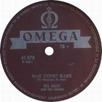 Cover Bill Haley And His Comets - Blue Comet Blues