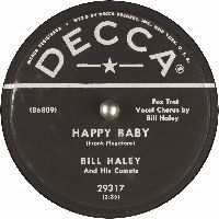 Cover Bill Haley And His Comets - Happy Baby