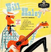 Cover Bill Haley And His Comets - Live It Up!