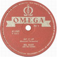 Cover Bill Haley And His Comets - Rip It Up