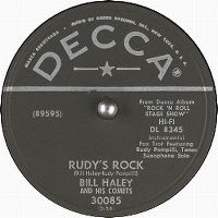 Cover Bill Haley And His Comets - Rudy's Rock