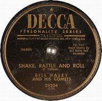 Cover Bill Haley And His Comets - Shake, Rattle And Roll