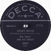 Cover Bill Haley And His Comets - Skinny Minnie