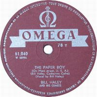 Cover Bill Haley And His Comets - The Paper Boy (On Main Street, U.S.A.)
