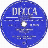 Cover Bill Haley And His Comets - Thirteen Women (And Only One Man In Town)