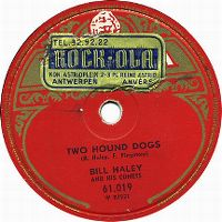 Cover Bill Haley And His Comets - Two Hound Dogs