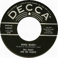 Cover Bill Haley And His Comets - Whoa Mabel!