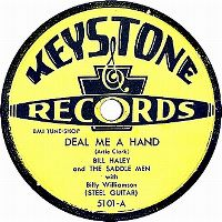 Cover Bill Haley and The Saddle Men with Billy Williamson - Deal Me A Hand