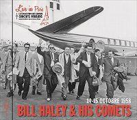 Cover Bill Haley & His Comets - Live In Paris - 14-15 octobre 1958