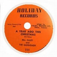 Cover Bill Haley & The Saddlemen - A Year Ago This Christmas