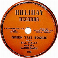 Cover Bill Haley & The Saddlemen - Green Tree Boogie