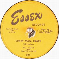 Cover Bill Haley With Haley's Comets - Crazy Man, Crazy