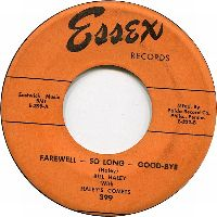 Cover Bill Haley With Haley's Comets - Farewell, So Long, Goodbye