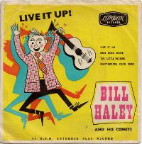 Cover Bill Haley With Haley's Comets - Live It Up!