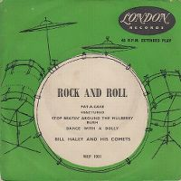 Cover Bill Haley With Haley's Comets - Pat-A-Cake