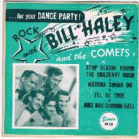 Cover Bill Haley With Haley's Comets - Stop Beatin' Round The Mulberry Bush