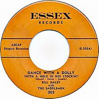 Cover Bill Haley With The Saddlemen - Dance With A Dolly (With A Hole In Her Stockin')