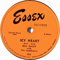 Cover Bill Haley With The Saddlemen - Icy Heart