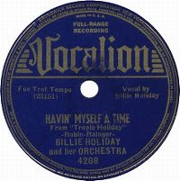 Cover Billie Holiday - Having Myself A Time