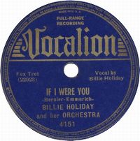 Cover Billie Holiday - If I Were You