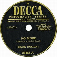 Cover Billie Holiday - No More