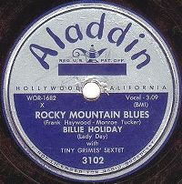 Cover Billie Holiday - Rocky Mountain Blues