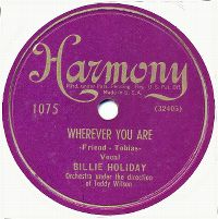 Cover Billie Holiday - Wherever You Are