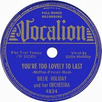 Cover Billie Holiday - You're Too Lovely To Last