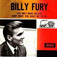 Cover Billy Fury - It's Only Make Believe