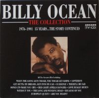 Cover Billy Ocean - The Collection - 1976-1991 15 Years...The Story Continues