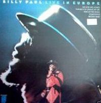 Cover Billy Paul - Live In Europe
